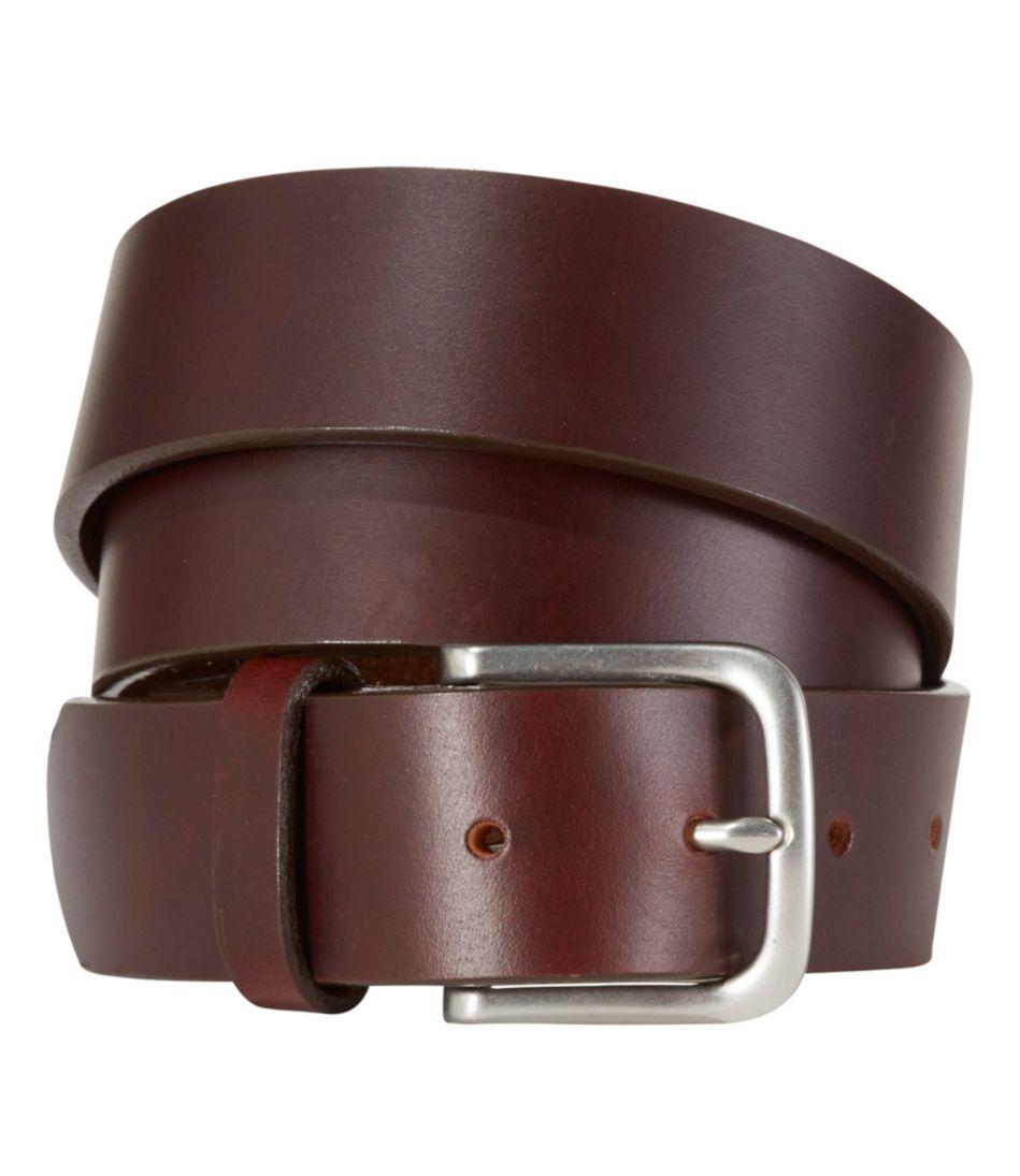Men's L.L.Bean Essential Leather Belt