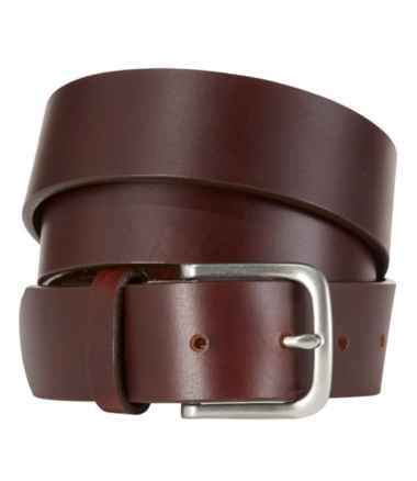 Men's L.L.Bean Essential Leather Belt