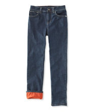 Boys' Performance Stretch Jeans, Lined