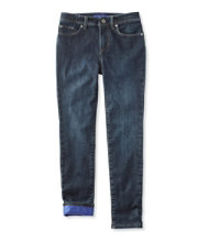 Girls' Performance Stretch Jeans, Lined