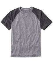 L.L.Bean Trail Tee, Short-Sleeve Colorblock