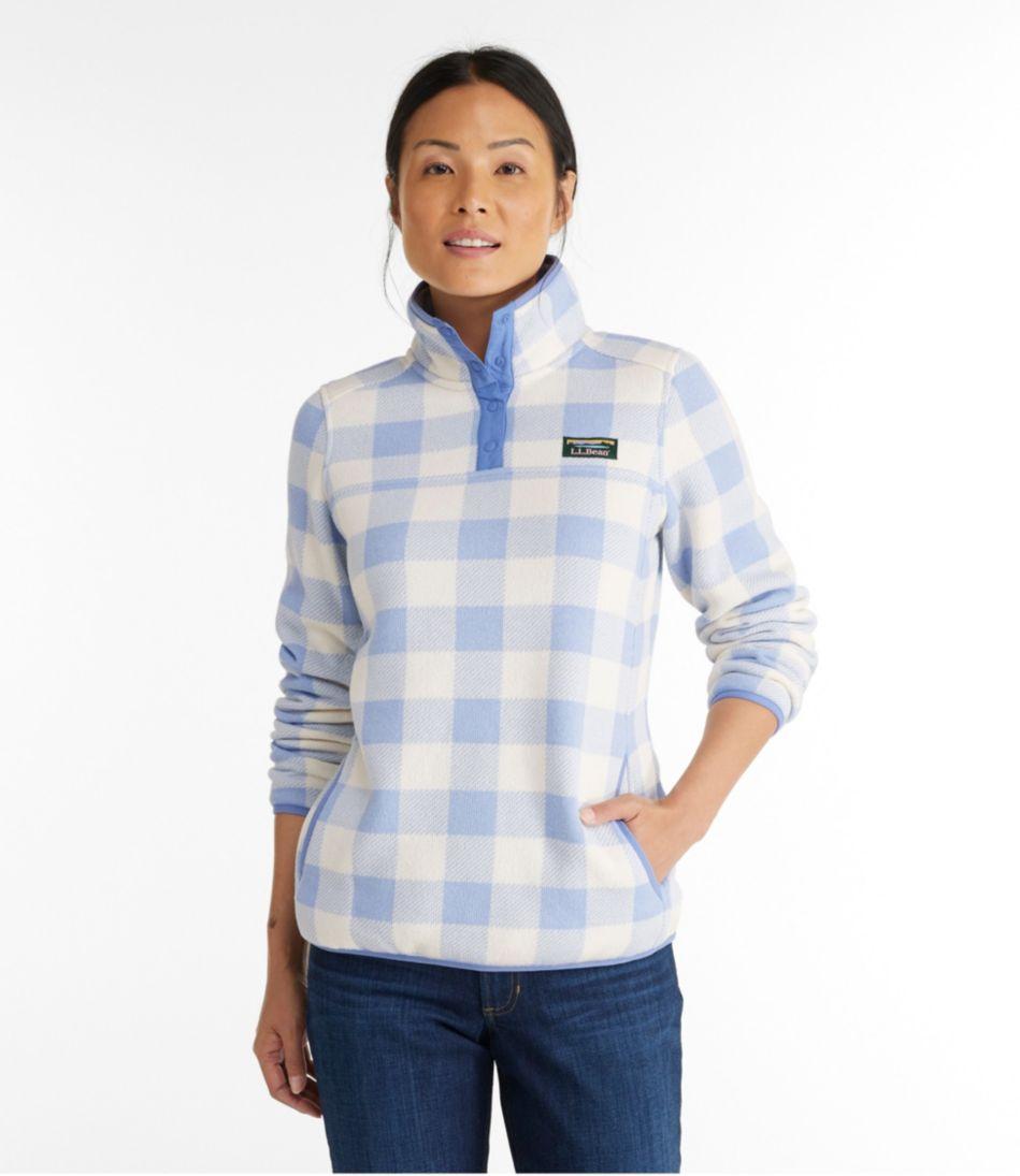 L.L.Bean Sweater Fleece Pullover, Print