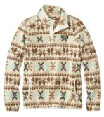 Women's L.L.Bean Sweater Fleece Pullover, Print