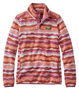 Women's L.L.Bean Sweater Fleece Pullover, Print