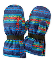 Toddlers' Cold Buster Waterproof Mittens, Print