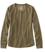 L.L.Bean Timberway Waffle Henley