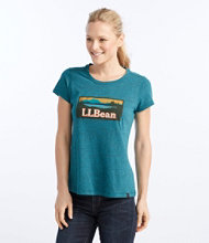 Back Cove Heathered Tee, Graphic