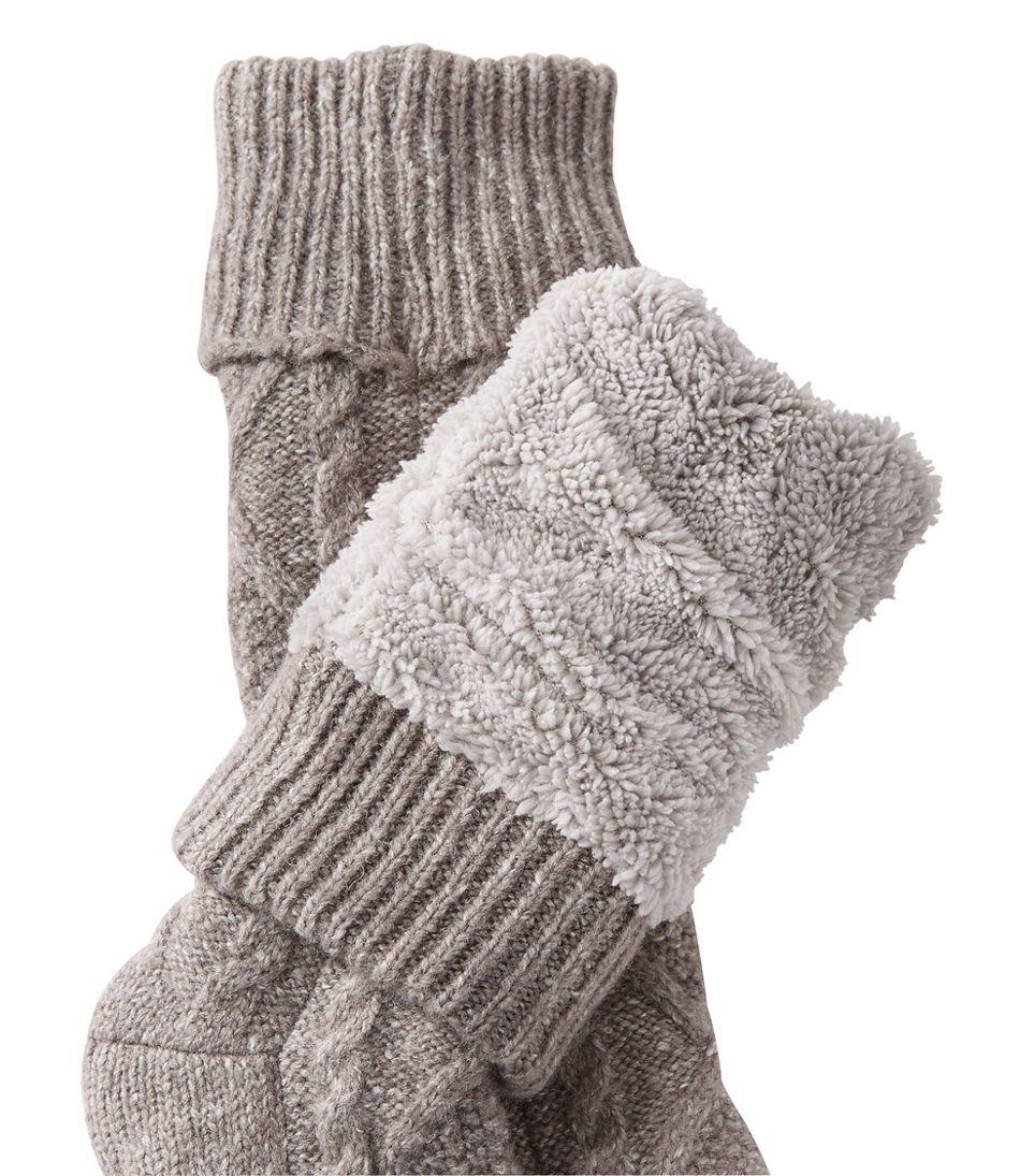 b9d878fc Fireside Gripper Socks, Lined