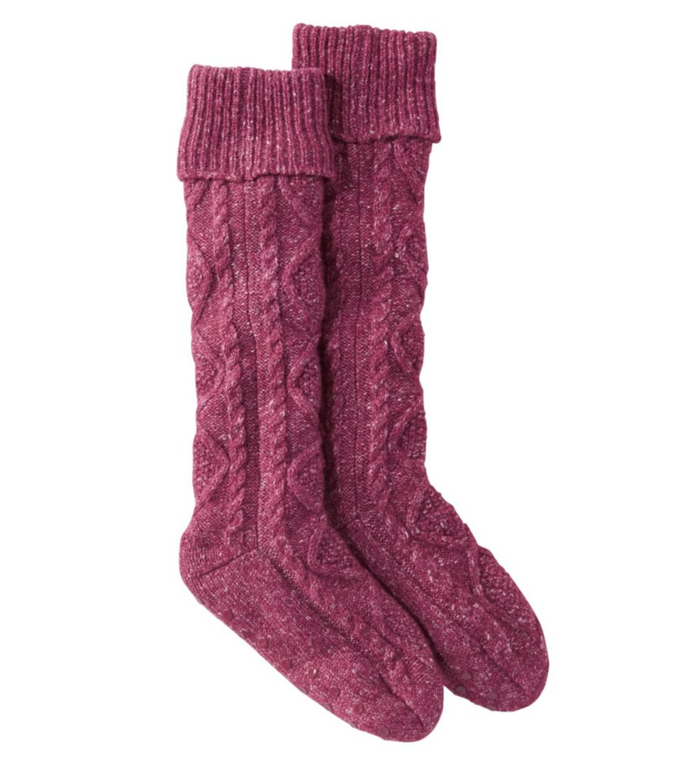 Fireside Gripper Socks, Lined