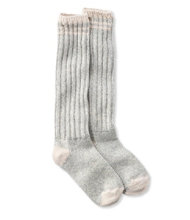 "Wool Ragg Socks, 16"" Stripe"
