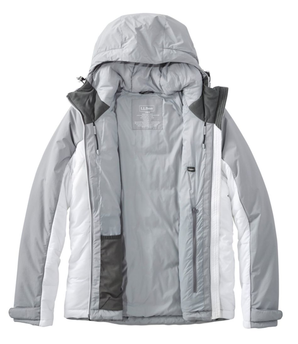 PrimaLoft Heater Hooded Jacket, Colorblock