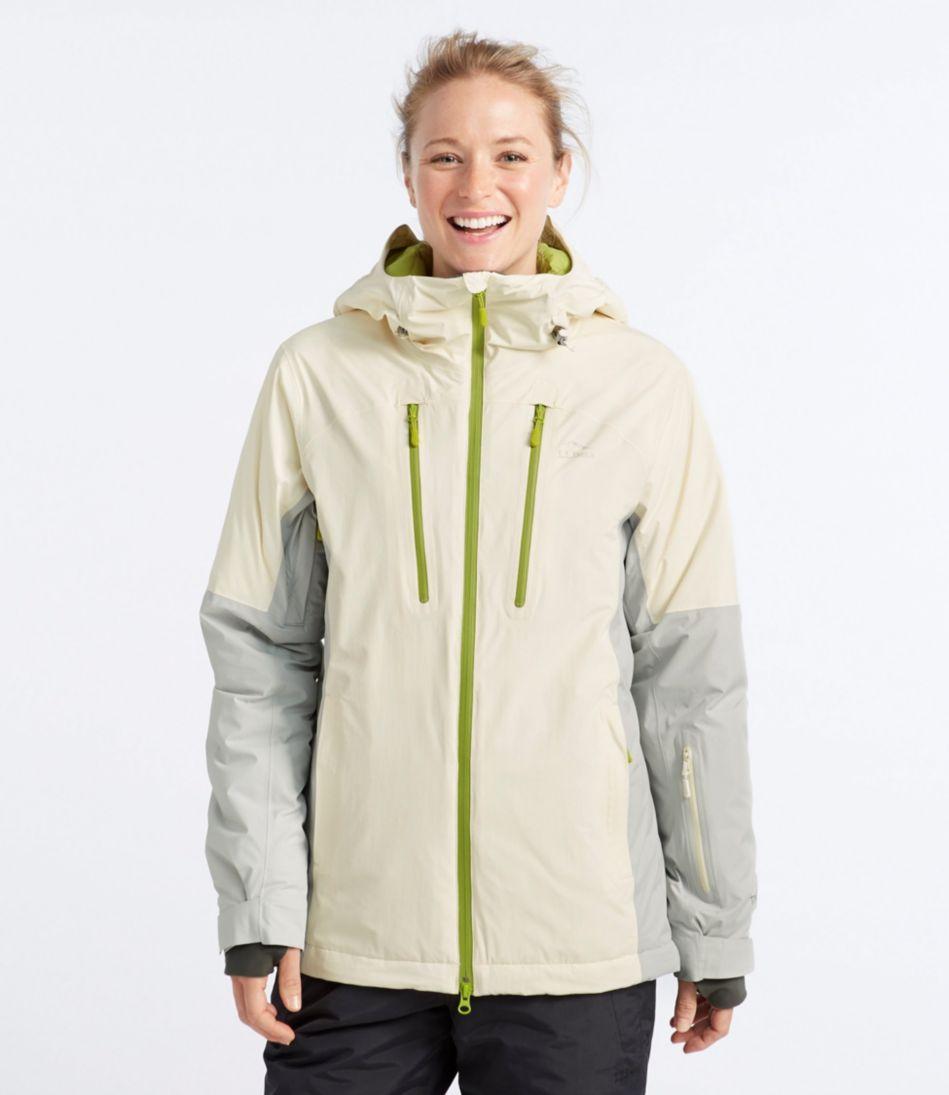Waterproof Down Ski Jacket, Colorblock