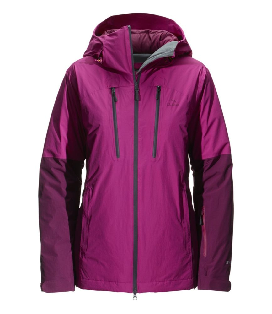 photo: L.L.Bean Women's Waterproof Down Ski Jacket snowsport jacket