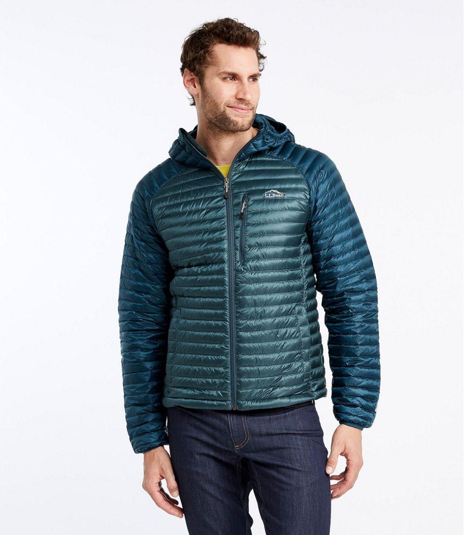 702ab80ef Men's Ultralight 850 Down Sweater, Hooded Colorblock