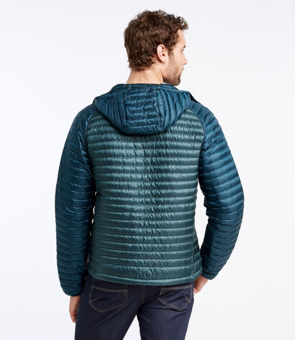 Ultralight 850 Down Sweater, Hooded Colorblock