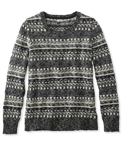 Cotton Ragg Sweater, Fair Isle Pullover | Free Shipping at L.L.Bean.