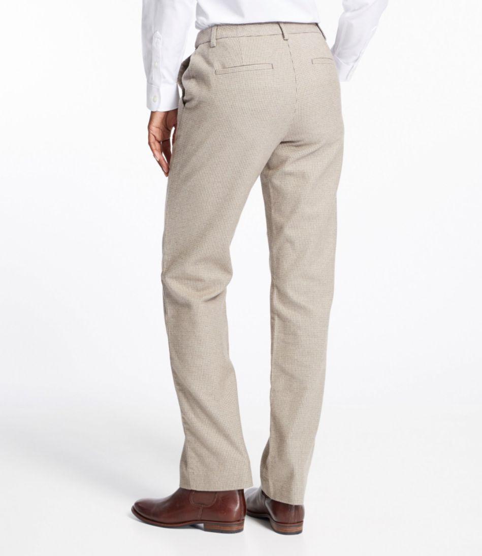 Weekend Pants, Hidden Comfort Waist Houndstooth
