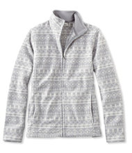 Comfort Fleece, Full-Zip Jacket Print