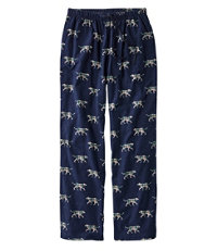 L.L.Bean Flannel Pants, Print