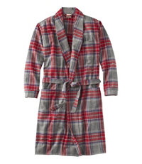 Chamois Cloth Robe, Plaid