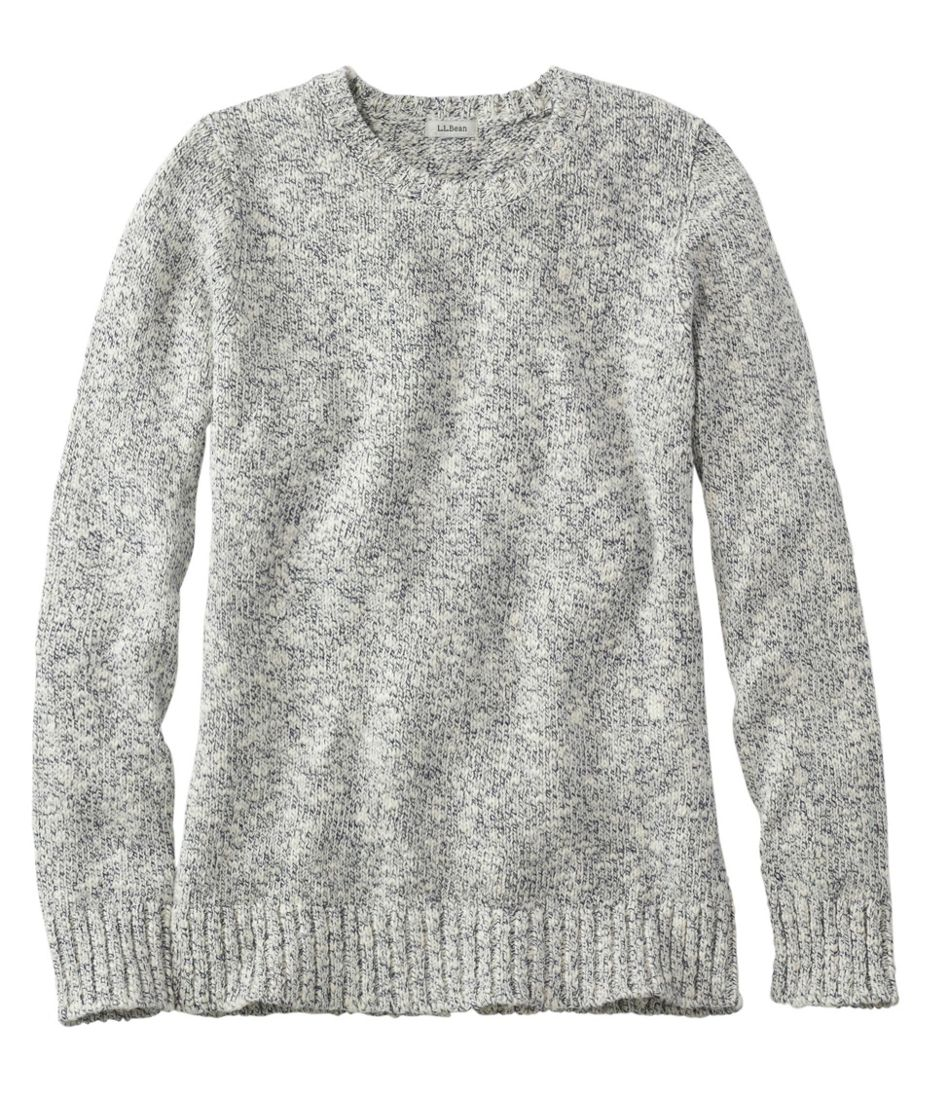 Cotton Ragg Sweater, Marled