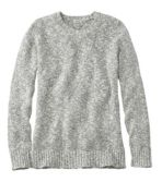 Women's Cotton Ragg Sweater, Marled