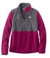 Women's Katahdin Microfleece Top, Colorblock