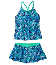 Girls' BeanSport Skirted Tankini, Print