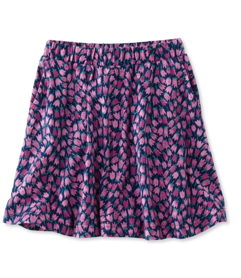 Girls' Unshrinkable Knit Skirt