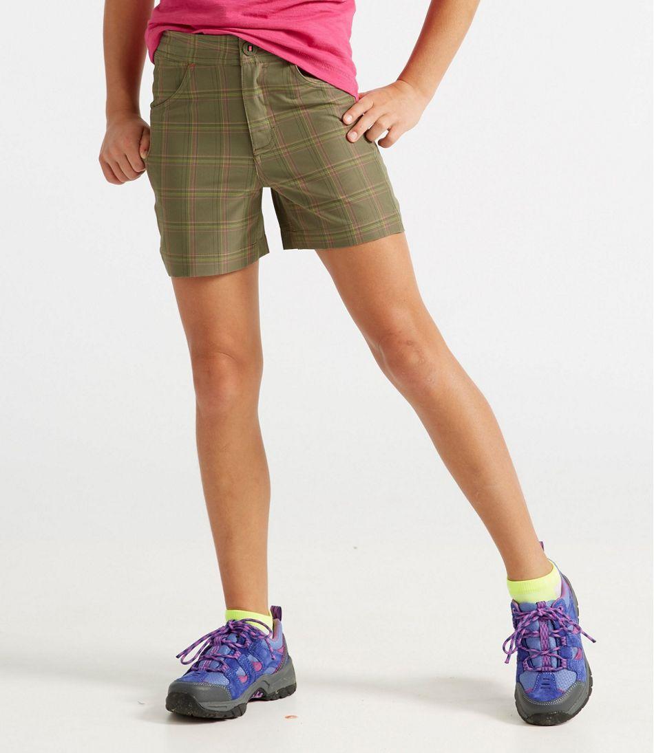 Girls' Land-to-Sea Shorts, Plaid