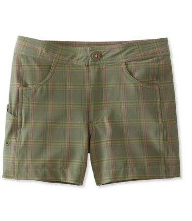 Girls' Land-to-Sea Shorts, Plaid