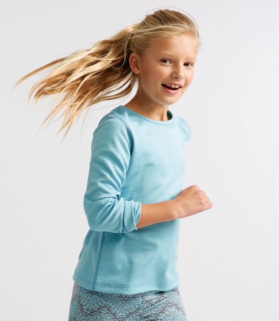 Girls' Reversible Long-Sleeve Tee