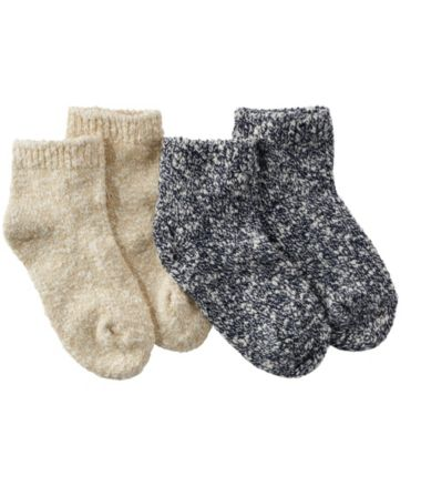 Women's Cotton Ragg Socks, Quarter-Crew Two-Pack
