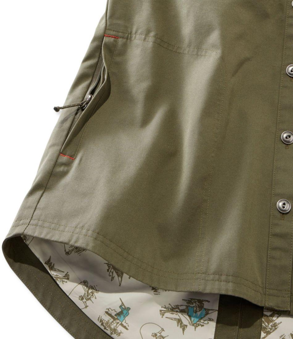 Water-Resistant Hooded Shirt Jacket, Women's