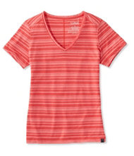 Women's Long Weekend Tee, Stripe