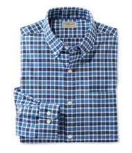 Men's Wrinkle-Free Brushed Cotton Shirt, Plaid
