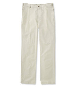 Tropic-Weight Chino Pants, Standard Fit Plain Front