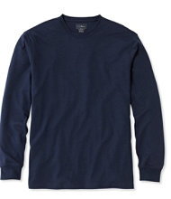 Pima Cotton T-Shirt, Traditional Fit Long-Sleeve