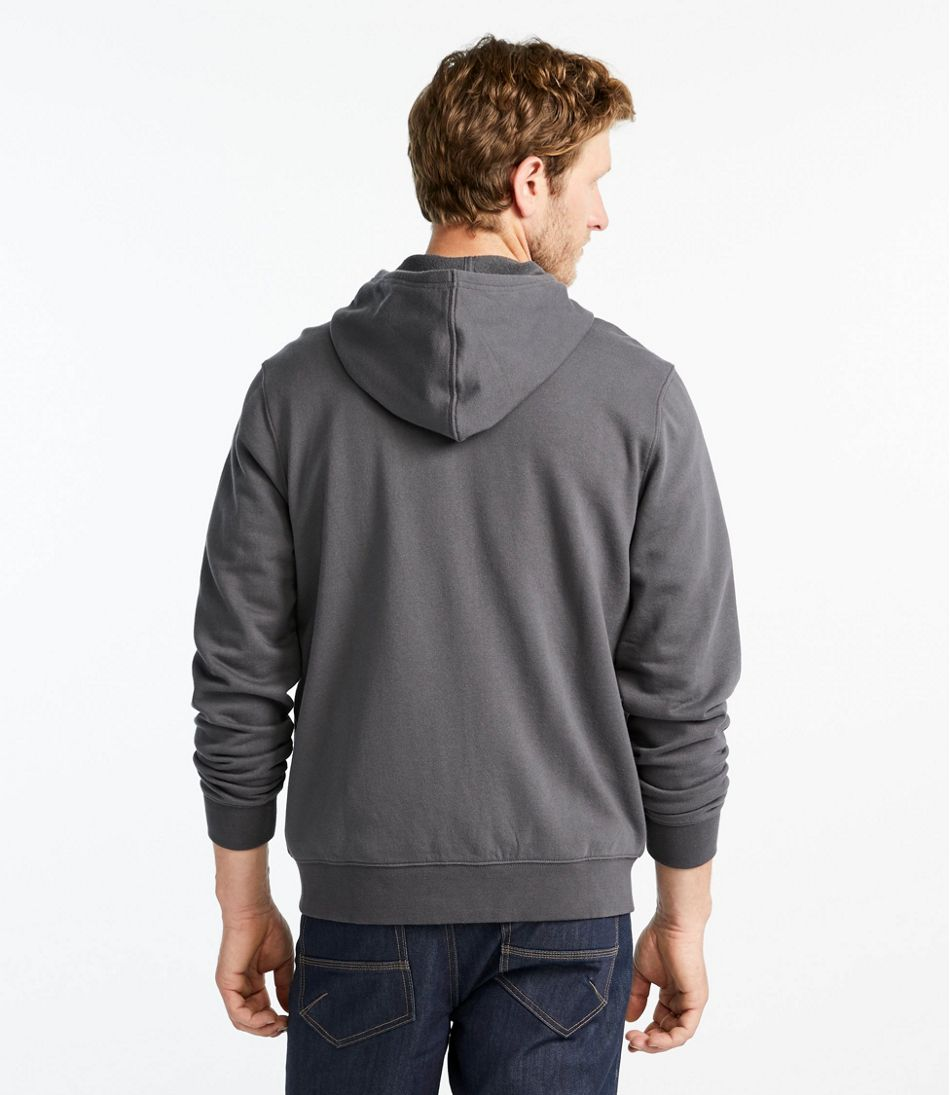 L.L.Bean Essential Sweatshirt, Hoodie Slightly Fitted Full-Zip