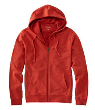 L.L.Bean Essential Hoodie,Slightly Fitted Full-Zip