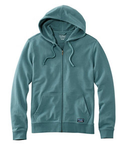 Men's L.L.Bean Essential Sweatshirt, Hoodie Slightly Fitted Full-Zip