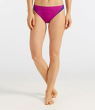 L.L.Bean Active Swim Collection, Low-Rise Brief Colorblock