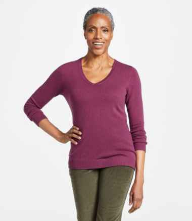 Classic Cashmere Sweater, V-Neck