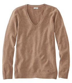 Women's Classic Cashmere Sweater, V-Neck