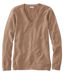 Women's Classic Cashmere Sweater, V-Neck
