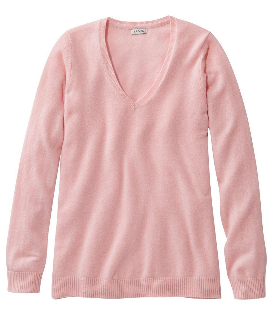 Classic Cashmere Sweater, V-Neck