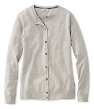 Supima-Blend Essential Cardigan