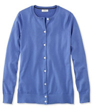 Women's Supima-Blend Essential Cardigan
