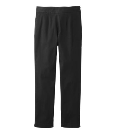 Women's Side-Zip Ankle Pants