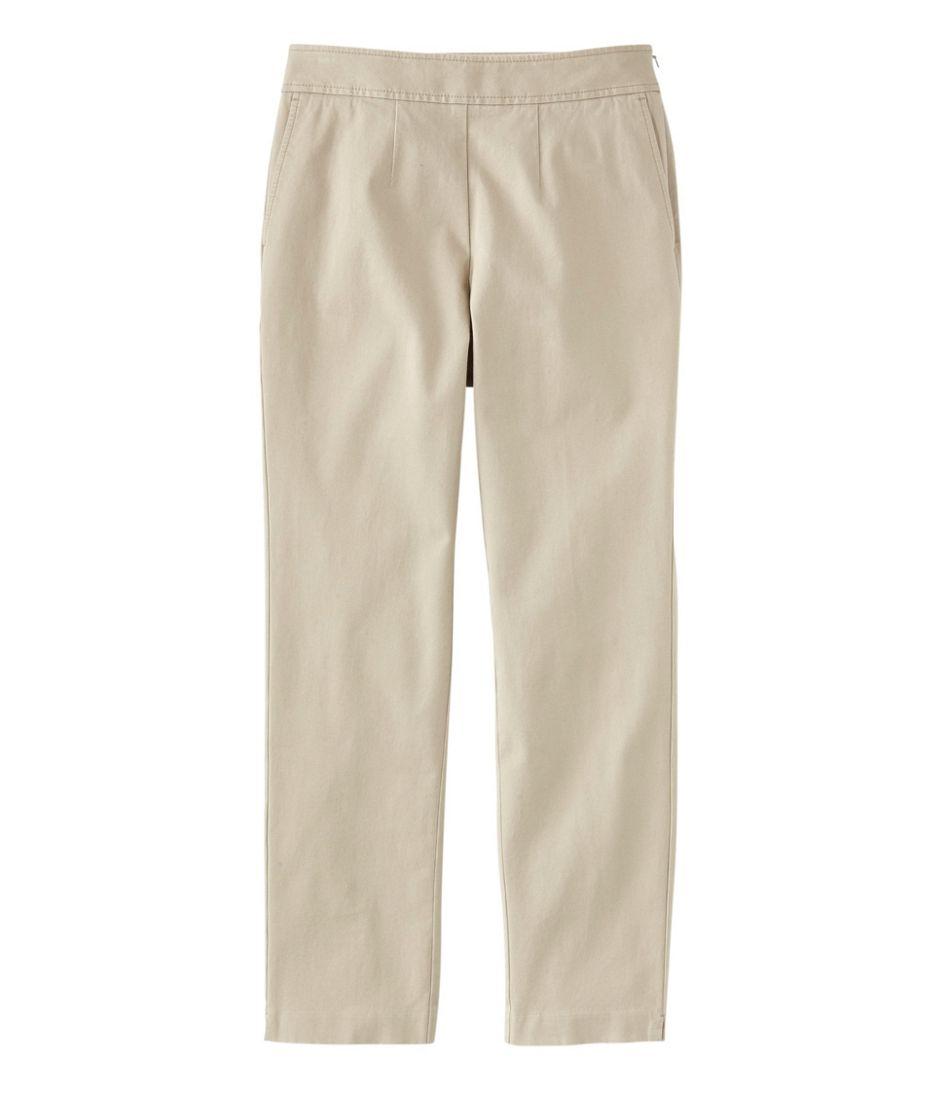 Women's Side-Zip Ankle Pants